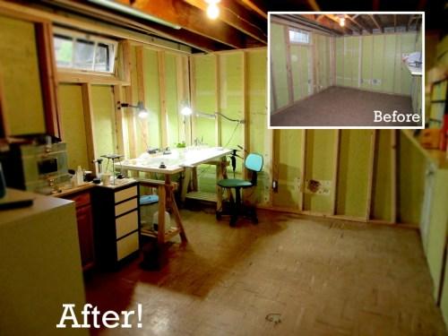 My new basement metalsmithing studio
