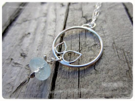 Sprout Series - Aquamarine Necklace