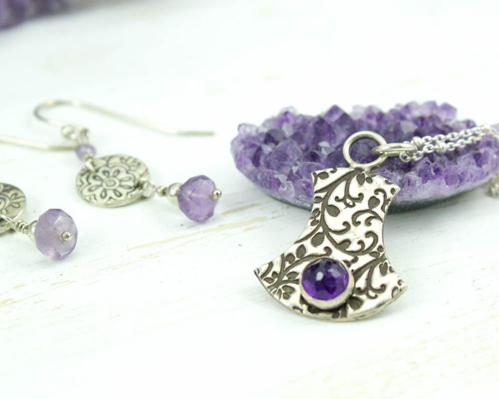 Amethyst Jewelry by Abella Blue