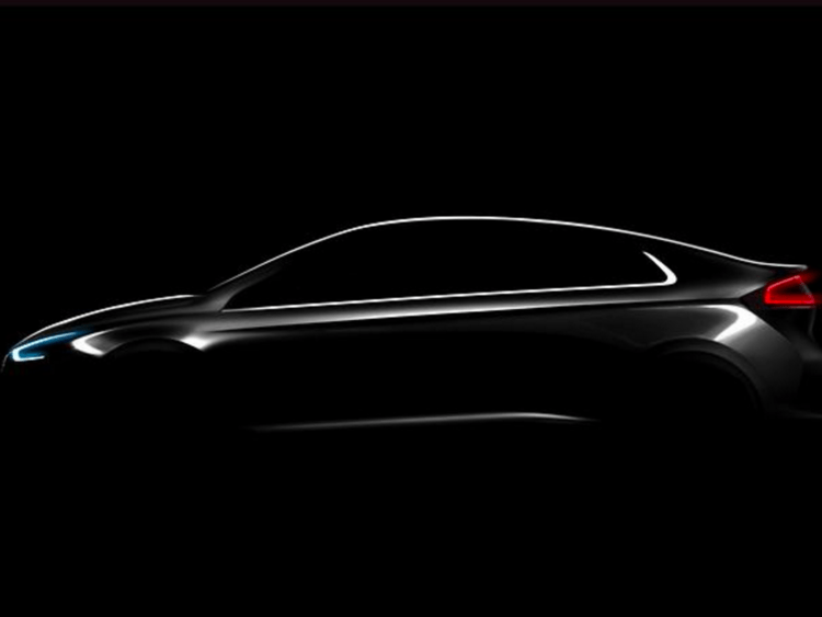 Hyundai's Ioniq EV is expected to become available in some markets in 2017.