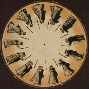 1893 - דיסק טיפוסי של  פנקיסטיסקופ (ויקיפדיה)