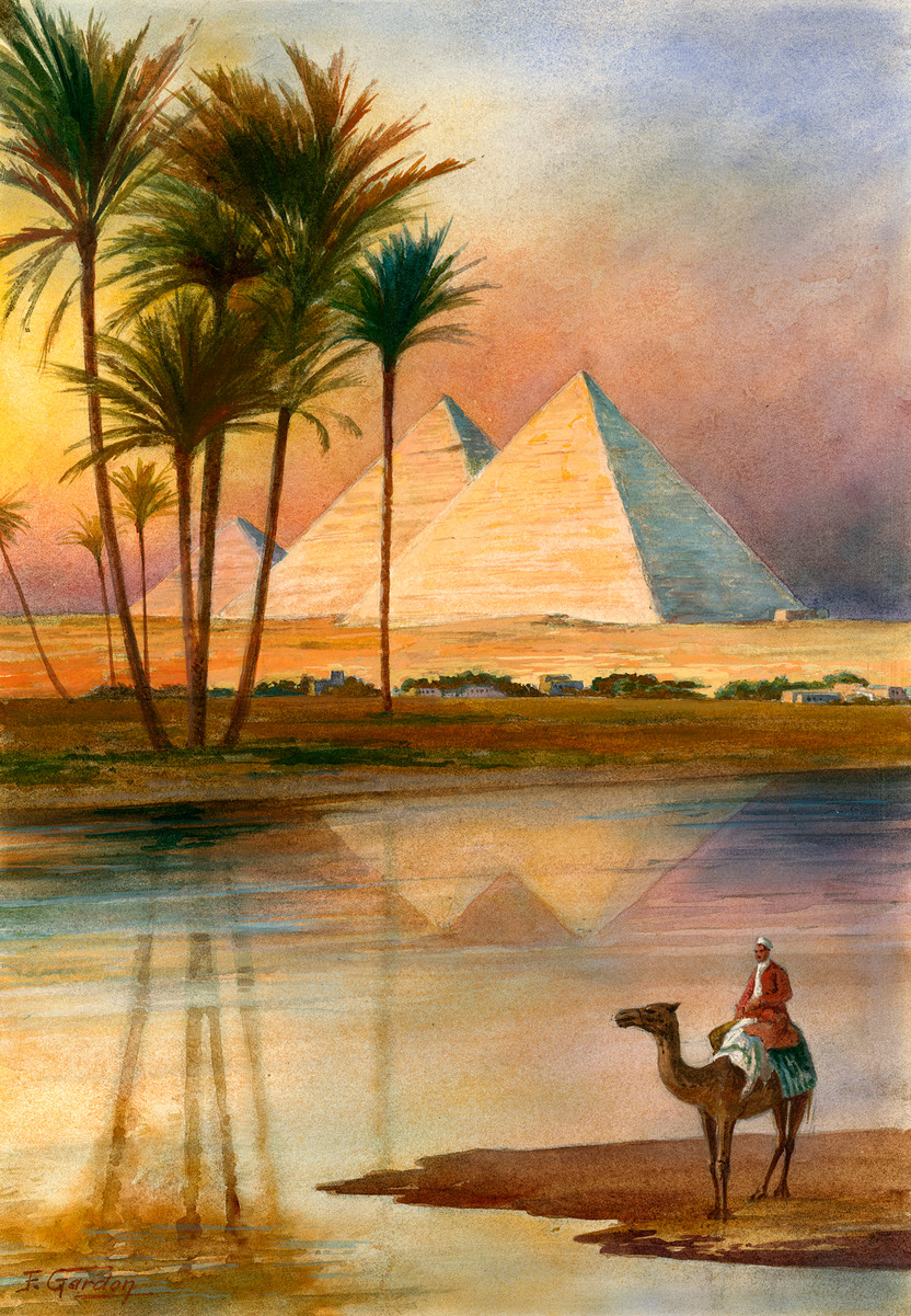 The Great Pyramid of Giizeh