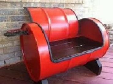 fabriquer un barbecue avec un bidon. Black Bedroom Furniture Sets. Home Design Ideas