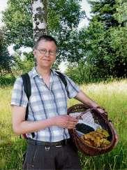 Pilzexperte Hansjörg Beyer