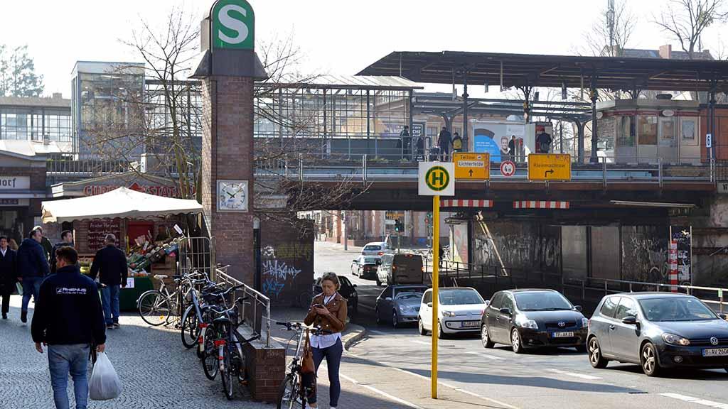 Nicht nur am S-Bahnhof Zehlendorf stehen Bauarbeiten an
