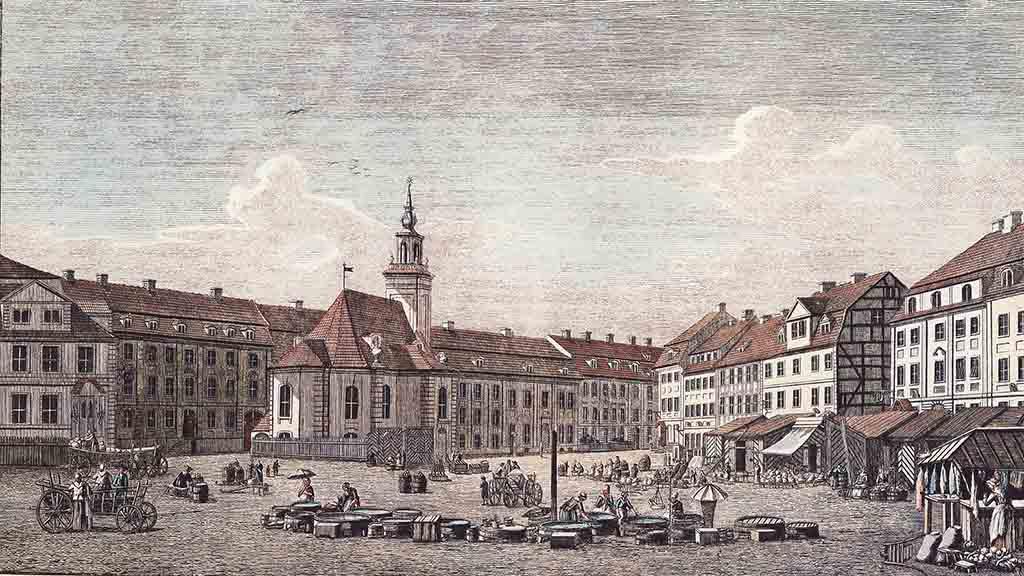 Gertraudenkirche auf dem Spittelmarkt