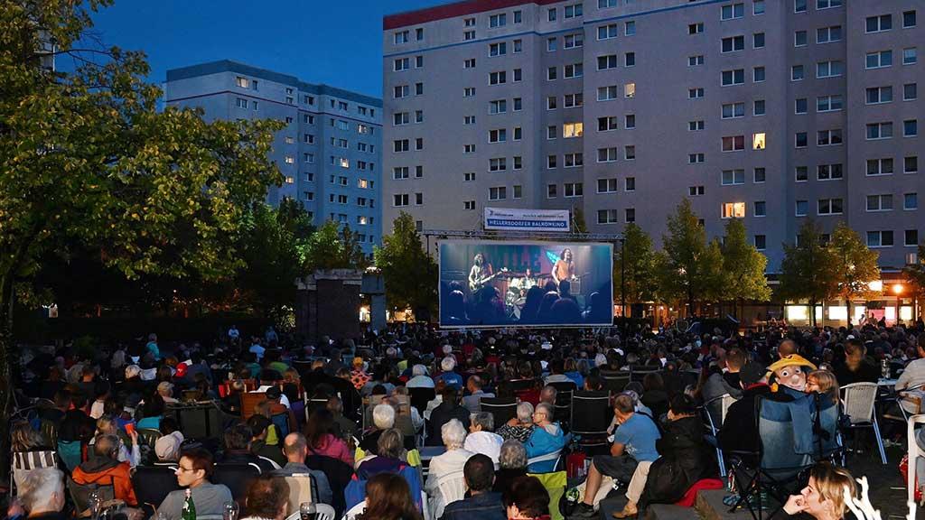 Berlin-Hellersdorf: Das Balkonkino kehrt im nächsten Jahr zurück