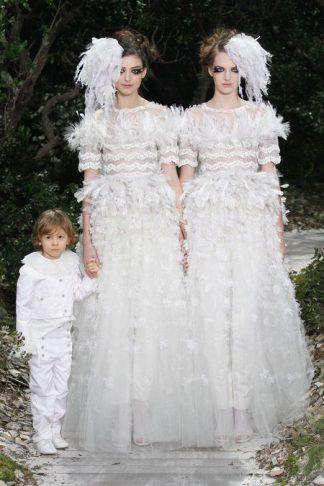 Chanel Hochzeitskleid 2013- Karl Lagerfeld