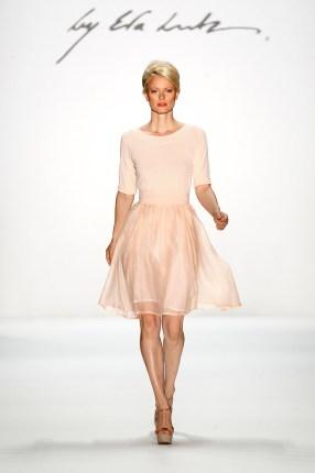 Rosa Cocktailkleid, Minx Mode 2013