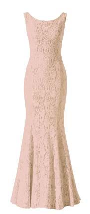 Spitzenkleid Nude, Abendkleid 2013 Minx Mode
