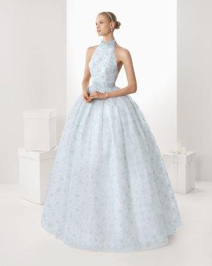 Brautkleid hellblau, Rosa Clara