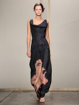 Donna Karan Abendkleid schwarz