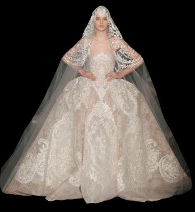 ELIE SAAB Hochzeitskleid Frühling Sommer 2013
