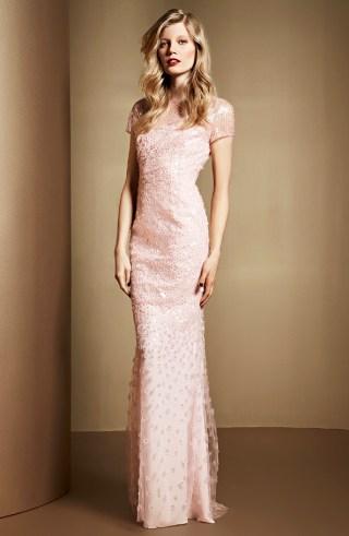 Abendkleid rosa, ESCADA 2014
