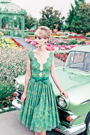 Retro-Style Kleid - Lena Hoschek 2014