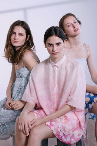 Cacharel Blusen, Röcke und Kleider 2015