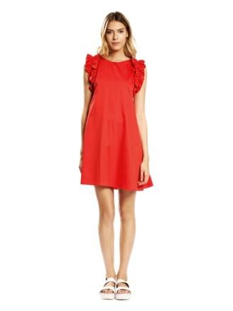 rotes Kleid, Tara Jarmon