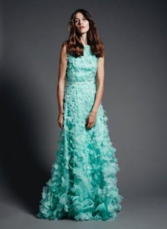 Meissen Couture - Abendkleid türkis