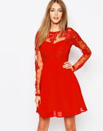 Größe 40 online Shop frische Stile Rote Kleider bei ASOS - Rote Kleider online Shop ...