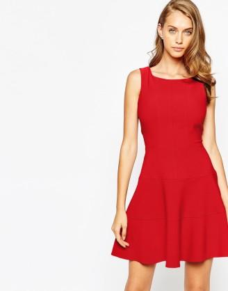 size 40 fe718 455e0 Rotes kleid langarm kurz – Beliebte kurze kleider