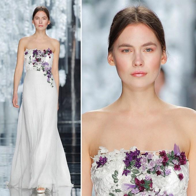 Trends Brautkleider 2016 - Floral Dresses - Yolan Cris