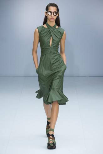 Kleider grün - fotocredit Ferragamo