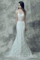 Modernes Brautkleid der Romantik-Linie, Demetrios