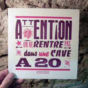 Cave à 20
