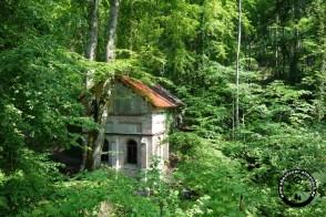 Eine altes Pumpenhaus (Mühle)