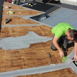 roof membrane application