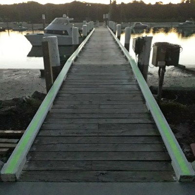 Glow on Jetty