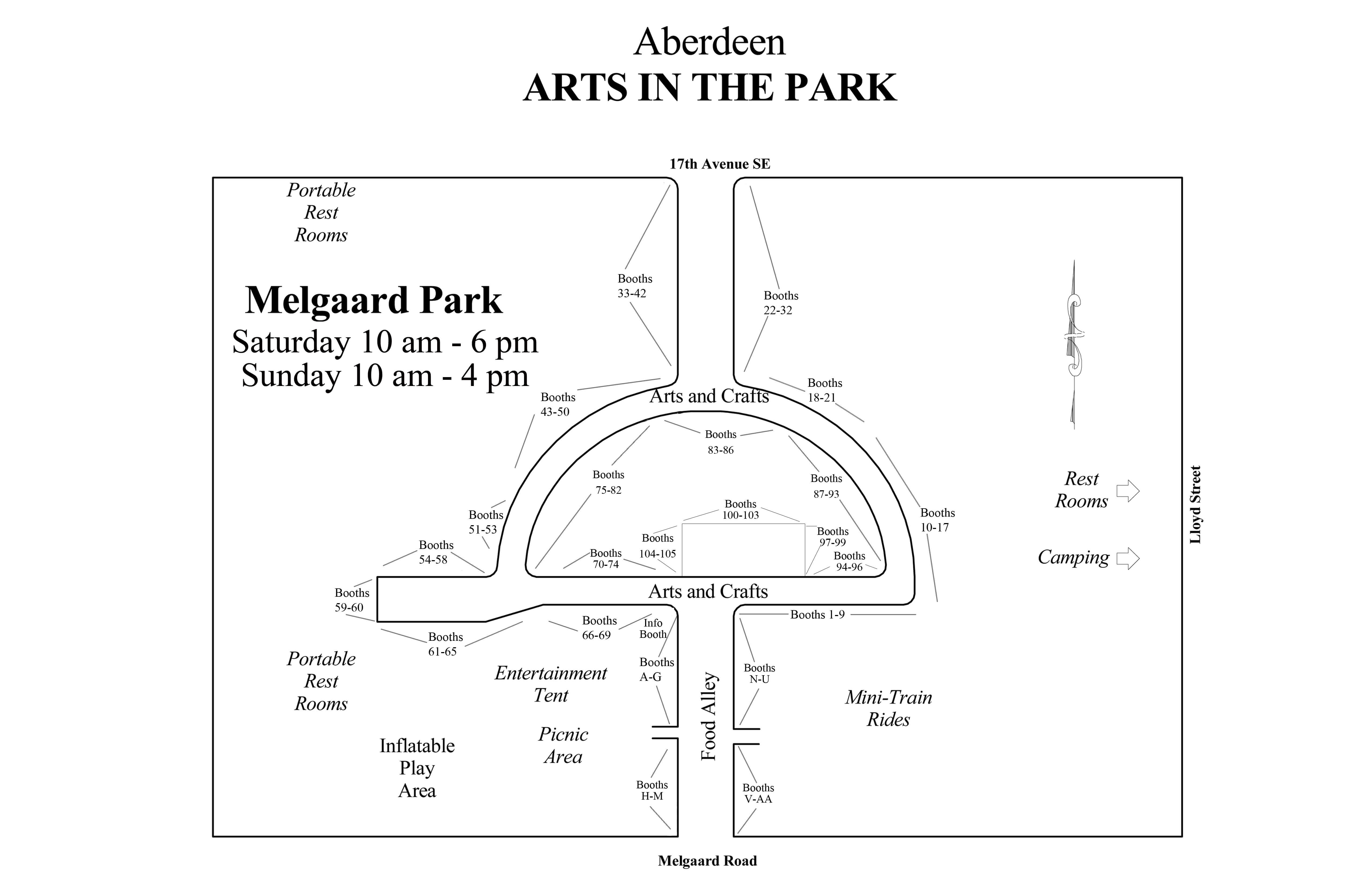 Arts in the Park – Aberdeen Area Arts Council