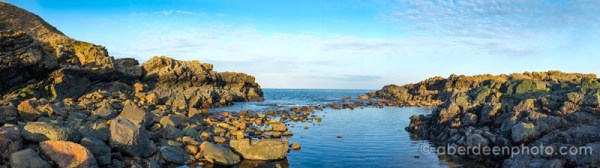 Taken at Cove, this 180 degree panorama was created in the camera.