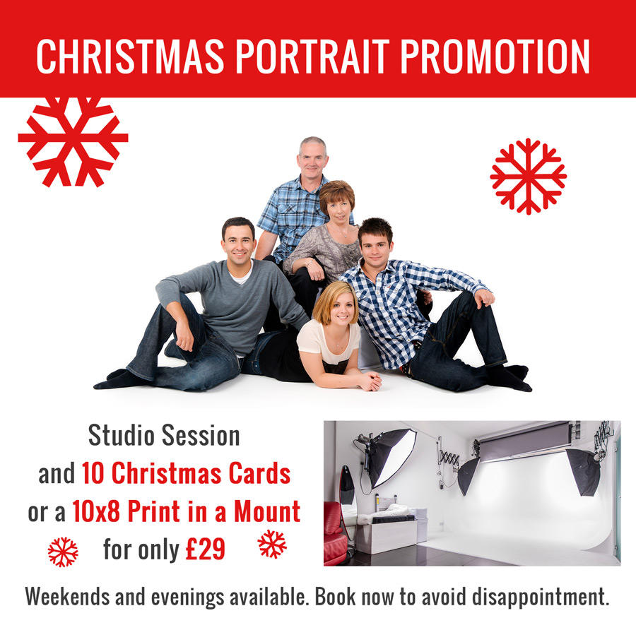 Christmas Portrait Promotion