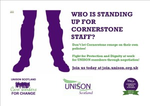 UNISON Cornerstone - standing up for members