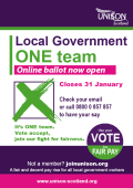 Pay ballot now closed. Results announced today - 1st Feb 2019