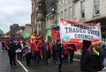 Branch joins May Day March and Rally in Aberdeen