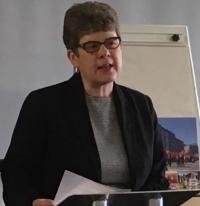 Cllr Alison Evison, President of CoSLA