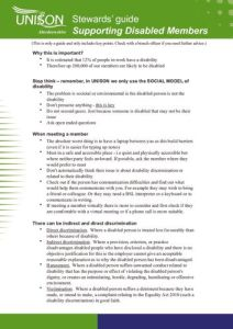 thumbnail of UNISON Aberdeenshire Council Stewards Checklist-1