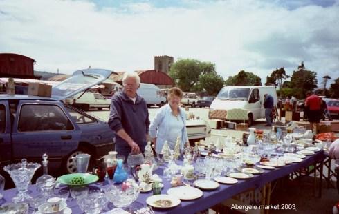 Abergele Market Car Boot Sale - Copyright Dennis Parr Collection