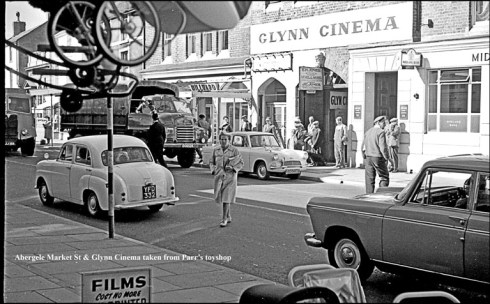 Glynn Cinema, Abergele, by Dennis Parr