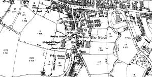 Ordnance Survey © Crown copyright 1899
