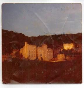 Gwrych Castle at night 02 copyright Karen Linley
