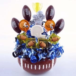 Football Lollipop Bouquet