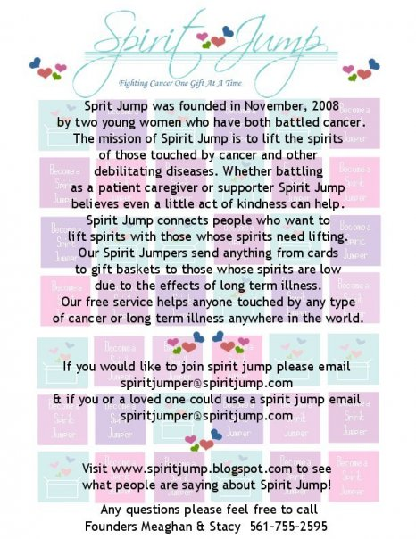 This is the Flier for Spirit Jump!