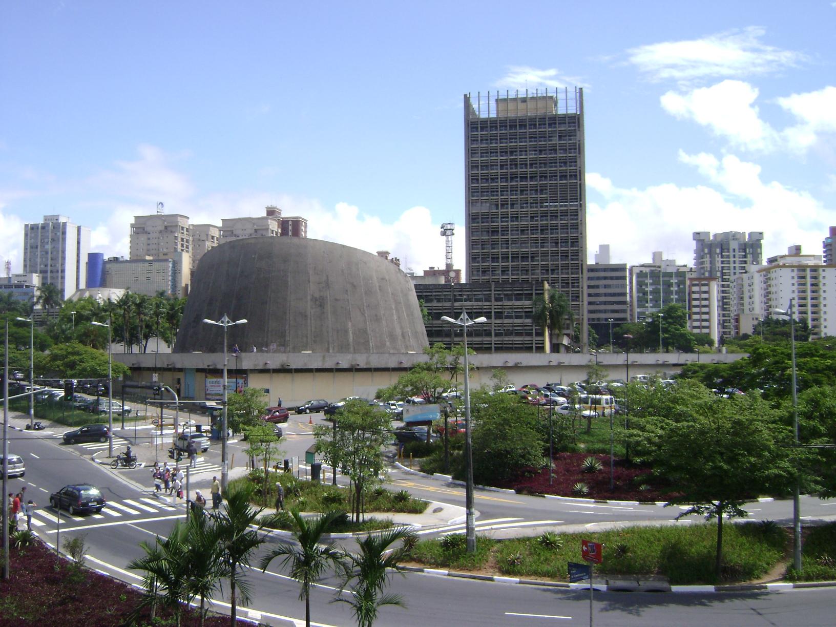 Foto do centro de Santo André, representando abrir empresa em Santo André