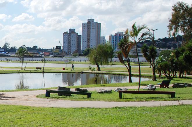 Foto do parque dos Paturis, em Carapicuíba
