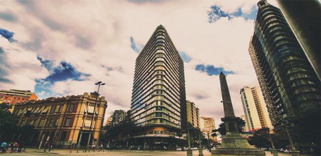 Foto de um dos prédios mais famosos da cidade, representando abrir empresa em Belo Horizonte