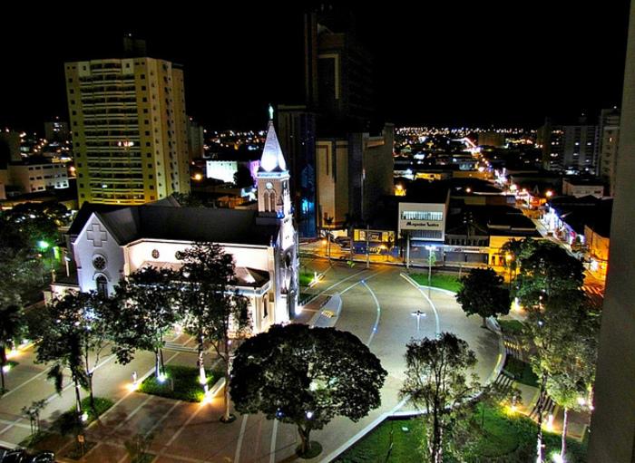Foto aérea de Catanduva, representando escritório de contabilidade em Catanduva - Abertura Simples