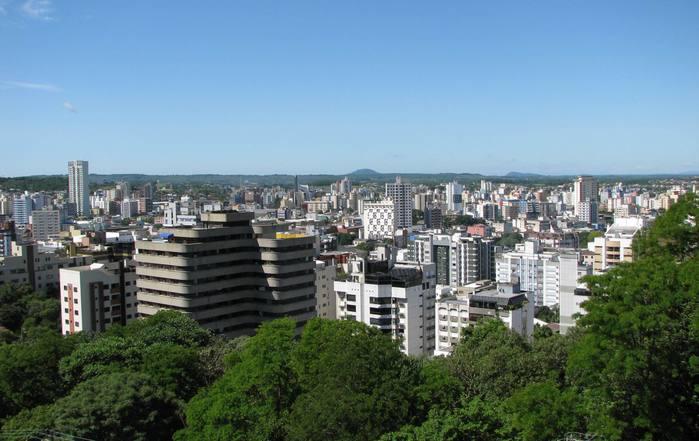 Foto aérea de Criciúma, representando abrir empresa em Criciúma - Abertura Simples
